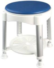Badhocker mit 360 Grad drehbarer Sitzfläche