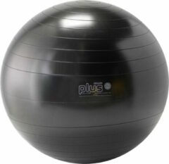 Gymnic Plus 55 BRQ - Zitbal en fitnessbal - Zwart - Ø 55 cm