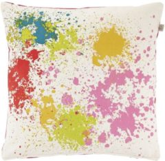 Paarse Dutch Decor Kussenhoes Nadia 45x45 cm fuchsia