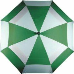 Longridge Golfparaplu groen/wit