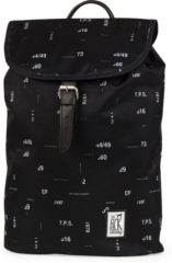 Zwarte The Pack Society The Small Backpack Black Numbers Allover