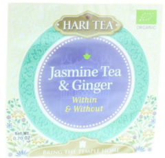 Groene Jasmijnthee met Gember - Kruidenthee - Hari Tea (3 doosjes)