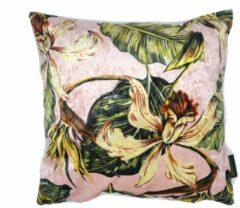 Roze Skins by Nature Velvet kussen botanical