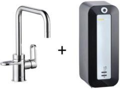 Kokendwaterkraan HotSpot Adrianna Chroom Inclusief 8 Liter Boiler