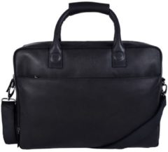 Zwarte Laptoptas Dstrct Fletcher Street Business Laptop Bag 15-17 inch