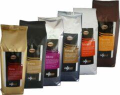 Caffè Duo proefpakket Koffiebonen - 6 x 1 kg