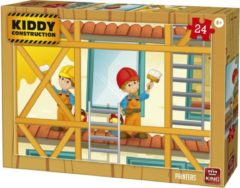 King International Legpuzzel Kiddy Construction Painters 24 Stukjes