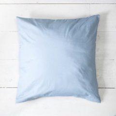 Witte Presence 2-PACK: Sierkussenslopen Percale uni - Lichtblauw