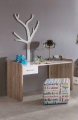 Schreibtisch Eiche Sanremo/ alpinweiss Wimex Lenny