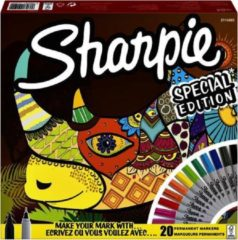 Viltstift Sharpie fun neushoorn special edition box à 20 stuks