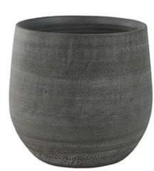 Grijze Ter Steege Pot esra mystic grey bloempot binnen 36 cm