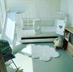 Droommeubel Concurrent Bedhuisje Amsterdam | Steigerhout | Kinderbed | Wit