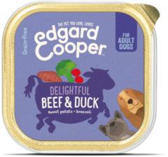 Edgard-Cooper Edgard&Cooper Kuipje Beef Duck Adult - Hondenvoer - Rund Eend Bataat 150 g Graanvrij