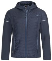 CMP Man Zip Hood Jacket 3Z50777 Herren Kunstfaserjacke Größe 50 N950 black blue