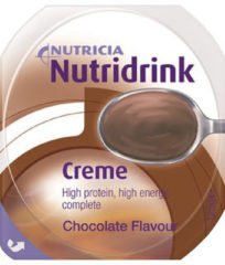 Nutridrink Creme chocolade 125 gram 4x125 Gram