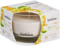 Bolsius Geurkaars True Moods Feel Happy 9 Cm Glas/wax Wit