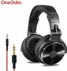 Zwarte OneOdio Studio Dj Headphone Pro 10 - Over-ear koptelefoon - hoofdtelefoon - dj set - kop telefoon - professionele koptelefoon - muziek studio - dj set mengpaneel - dj Headphones