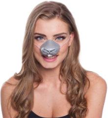 Grijze Folat Konijnen Neus Masker