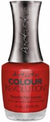 Rode Artistic Nail Design Colour Revolution Social Diva