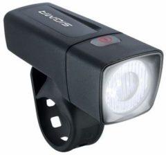 Zwarte Sigma Sport Sigma Aura 25 - Koplamp Fiets - LED 25 Lux