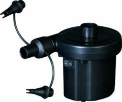 Zwarte Bestway Electrische luchtpomp 220 + 12 Volt voor zwembaden - boten - luchtmatrassen