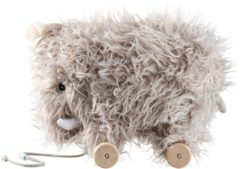 Beige Kids concept Trekdier Mammoet babyspeelgoed vanaf 1 jaar