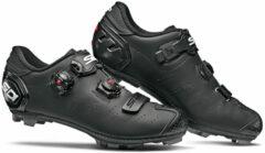 Zwarte Sidi Dragon 5 SRS MTB schoenen (mat) - Fietsschoenen