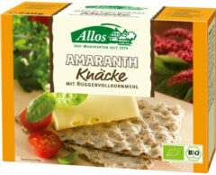 Allos Knackebrod amarant 12 x 250g