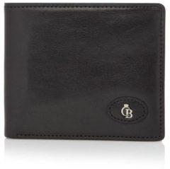Castelijn & Beerens Bi-fold portemonnees Gaucho Billfold 9 Creditcards Zwart