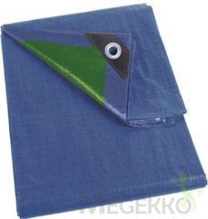 Perel 254-34 Dekzeil - blauw/groen - normaal - 3 x 4 m