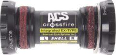 Acs Bottom Bracket Crossfire Bsa 73 X 68 Mm Zwart
