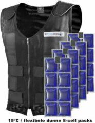 Blauwe EZCooldown Compleet Performers PCM Koelvest - Maat: M - 15C - 8 Cell