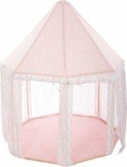 Atmosphera Yurt tent roze - Speeltent - H160 cm - Roze - Kindertent