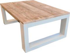 Bruine Wood4you - Salontafel New Orleans - Steigerhout 160lx90dx43h