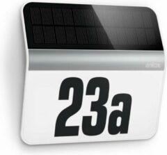 Steinel XSolar LH-N 007140 Solar huisnummerlamp 0.03 W Koud-wit RVS