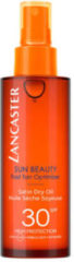 Lancaster Sun Beauty Fast Tan Optimizer Satin Dry Oil SPF30 - Body - bruinversnellende zonnebrand