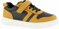 Vty sneakers bruin/zwart