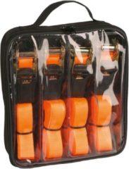 Oranje Kerbl Spanband met ratel set 5 m 500 kg 37991