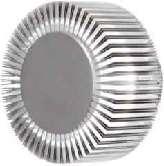 Konstsmide Monza 7932-310 Buiten LED-wandlamp Energielabel: LED (A++ - E) 5 W Warm-wit Aluminium