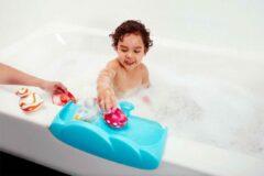 Blauwe Boon Watertafel & Badspeelgoed Organizer Ledge