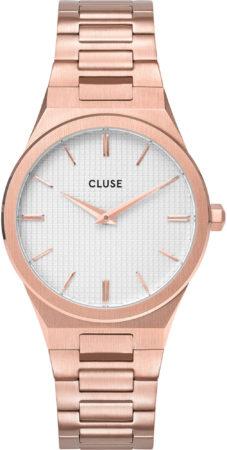 Afbeelding van CLUSE Horloges Vigoureux 33 H Link Rose Gold Colored Roségoudkleurig