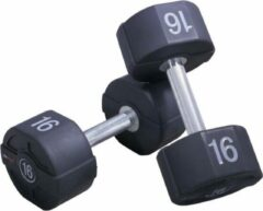 LifeMaxx PU dumbbellset (2 stuks per set) - 10kg