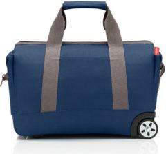 Reisenthel Allrounder Trolley Reiskoffer - Reistas op 2 wielen - Polyester - 30L - Dark Blue Donkerblauw