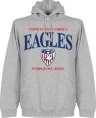 Retake Verenigde Staten Rugby Hoodie - Grijs - XXL