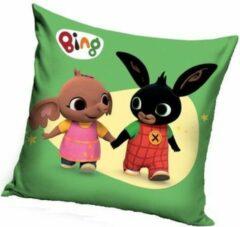 Bing Bunny Bing het konijn kussen – sierkussen | gevuld 38x38cm
