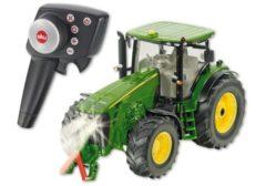 Groene Siku Control: John Deere 8345R tractor radiografisch groen (6881)