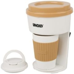 UNOLD TO GO 28310 - Kaffeemaschine - Beige/Weiß