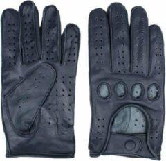 Swift racing leren handschoenen blauw | Maat S