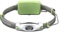 Groene Ledlenser NEO-4 Groen - Jogging hoofdlamp - Breedbeeldformaat - niet-verblindend - 240 lm