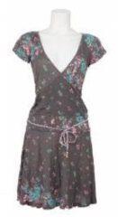 Grijze Dept jurk - Knitted dress - Smoke